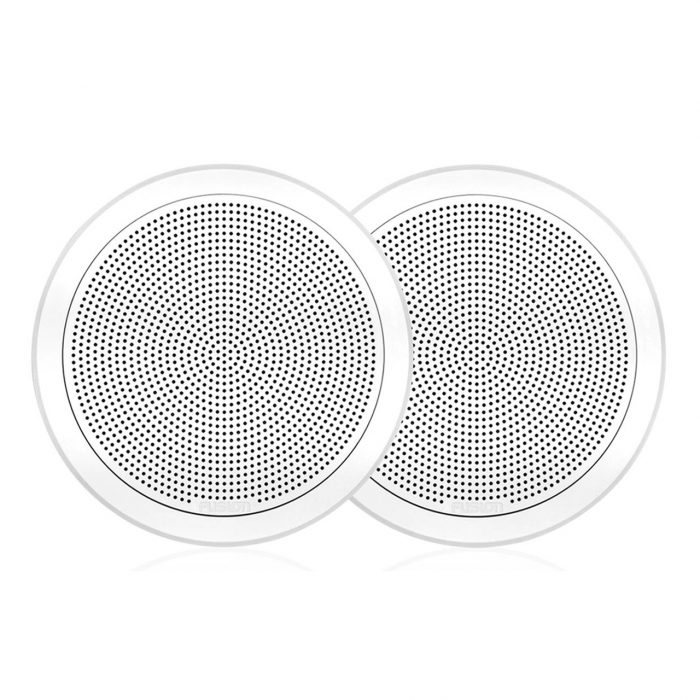 "Flush Mount Speaker, 6.5"", Round White, FM-F65RW"