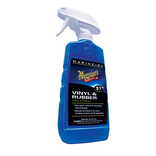 Puhastusvahend M57 VINYL & RUBBER CLEANER / CONDITIONER 473 ml