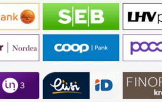 Maksekeskuse pangalingid