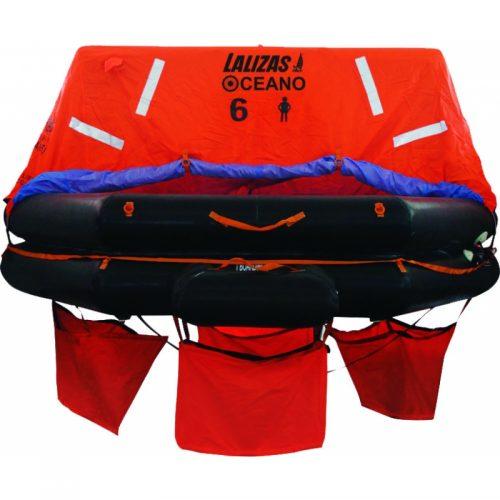 LALIZAS päästeparv 6-inimest (kotis)