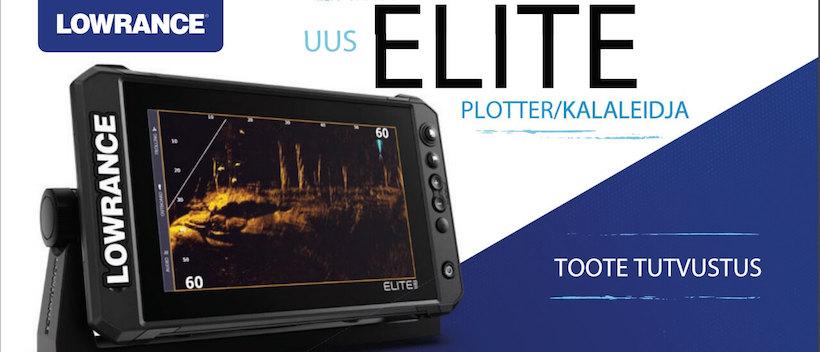 Lowrance Elite FS mobil